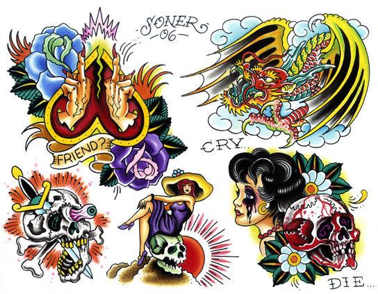 Tatuajes Tradicionales Disenos Belagoria La Web De Los Tatuajes
