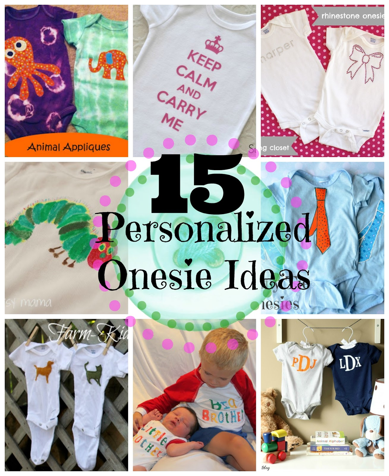 15 personalized onesie ideas do small things with great love