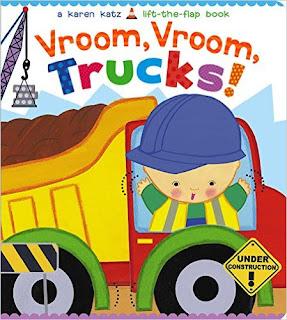 Vroom, Vroom, Trucks! (Karen Katz Lift-The-Flap Books) PDF