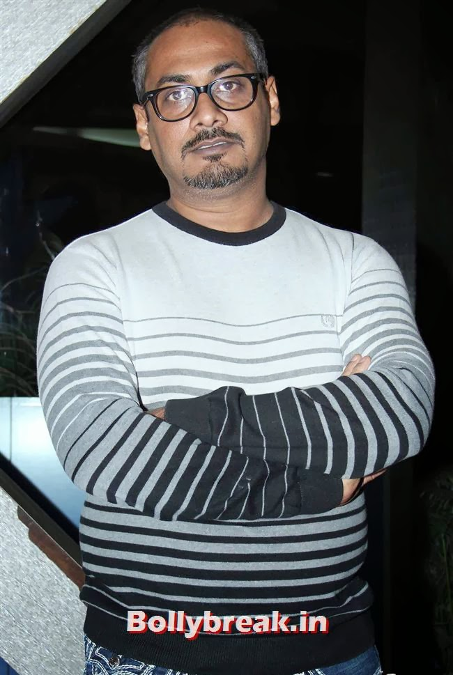 Abhinav Kashyap, Huma Qureshi Anurag Kashyap at American Hustle Special Screening