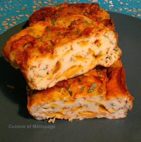 cake surimi cheddar