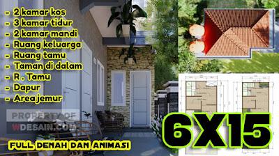 desain rumah minimalis 3 kamar tidur 2 toilet