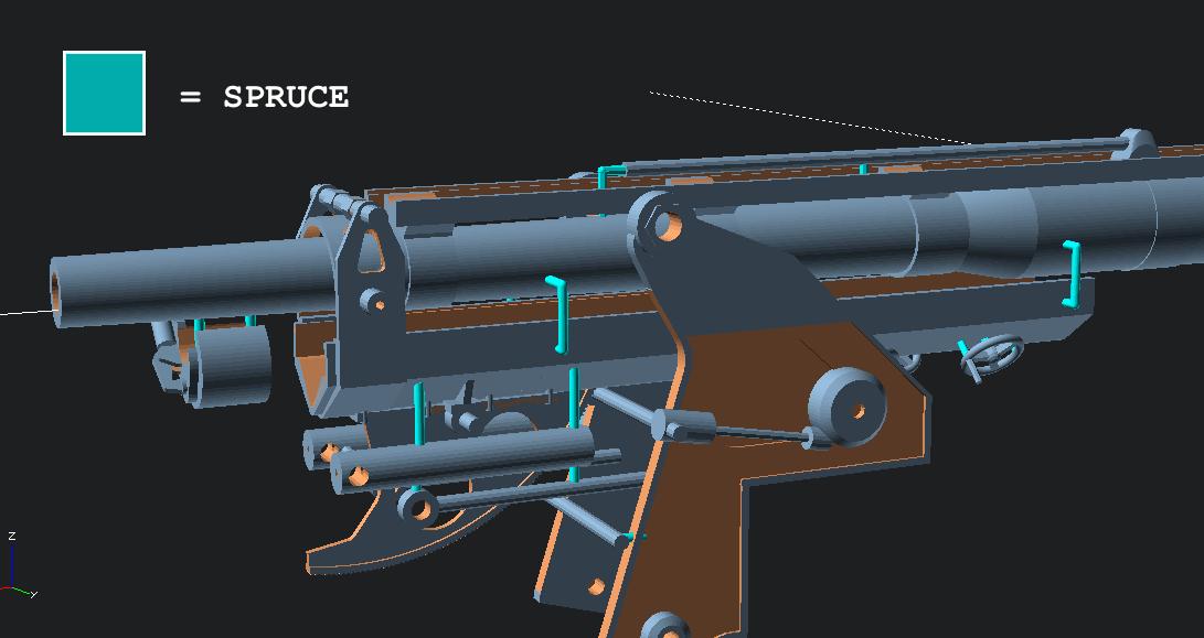 warren hudson modelling 1 16 scale m1897a4 75mm at gun. Black Bedroom Furniture Sets. Home Design Ideas