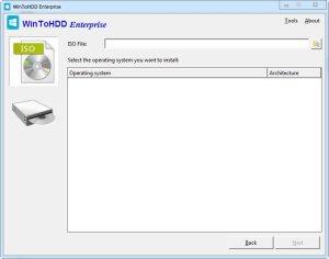 WinToHDD Enterprise 2.8 Release 1 Multilingual Full Version