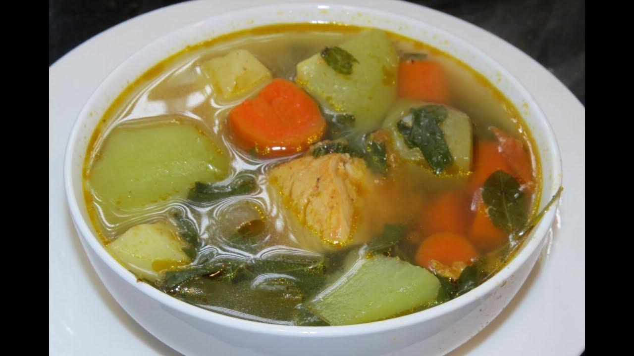 Caldo De Gallina Salvadorena Sopa de pollo (...