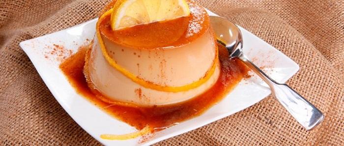 Flan de Naranjas