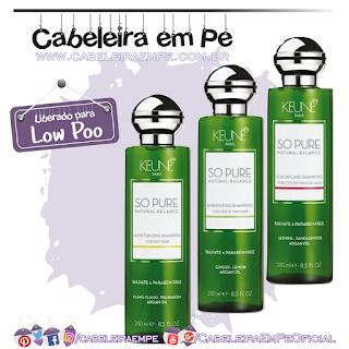 Shampoo Vitay Cabelo e Rosto (Low Poo), Condicionador Novex Cabelo e Corpo e Máscara Novex Cronograma de Beleza (Liberados para No Poo) - Linha Spa - Embeleze