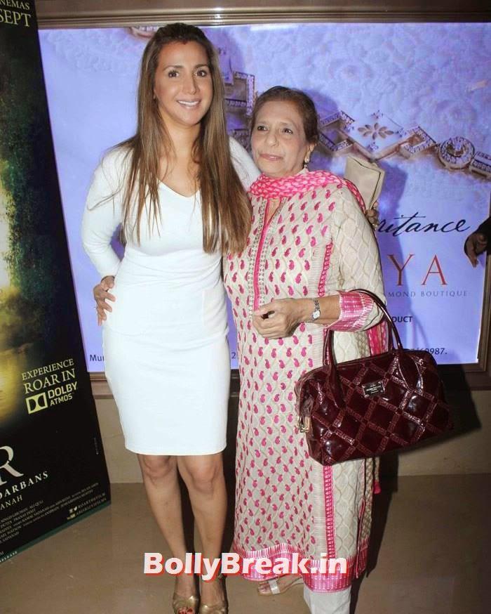 Ritu Shivpuri, Celebs at 'Roar' Movie First Look Launch