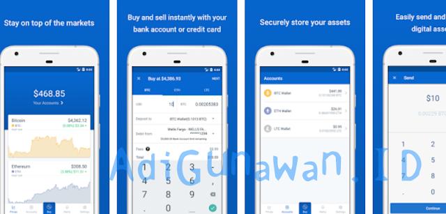 Software Aplikasi Trading di Exchange Coinbase Terbaru