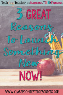 3 reasons to start new things at the end of the school year