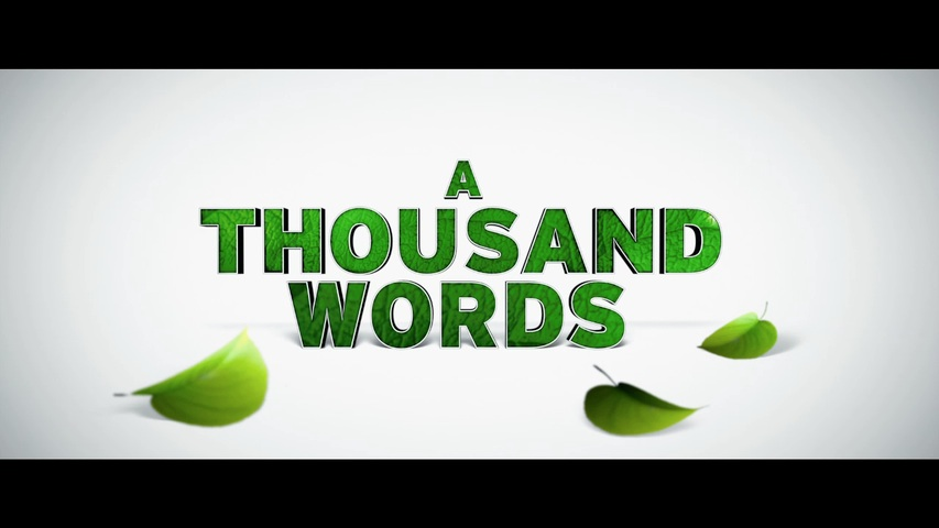 movie report a thousand words A thousand words (2012): after stretching the truth on a deal with a spiritual guru, literary agent jack mccall finds a bodhi tree on his property its appearance holds a valuable lesson on the consequences of every word he speaks.