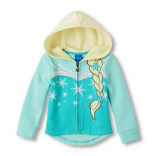 Contoh Jaket Anak Perempuan Cantik Motif Frozen