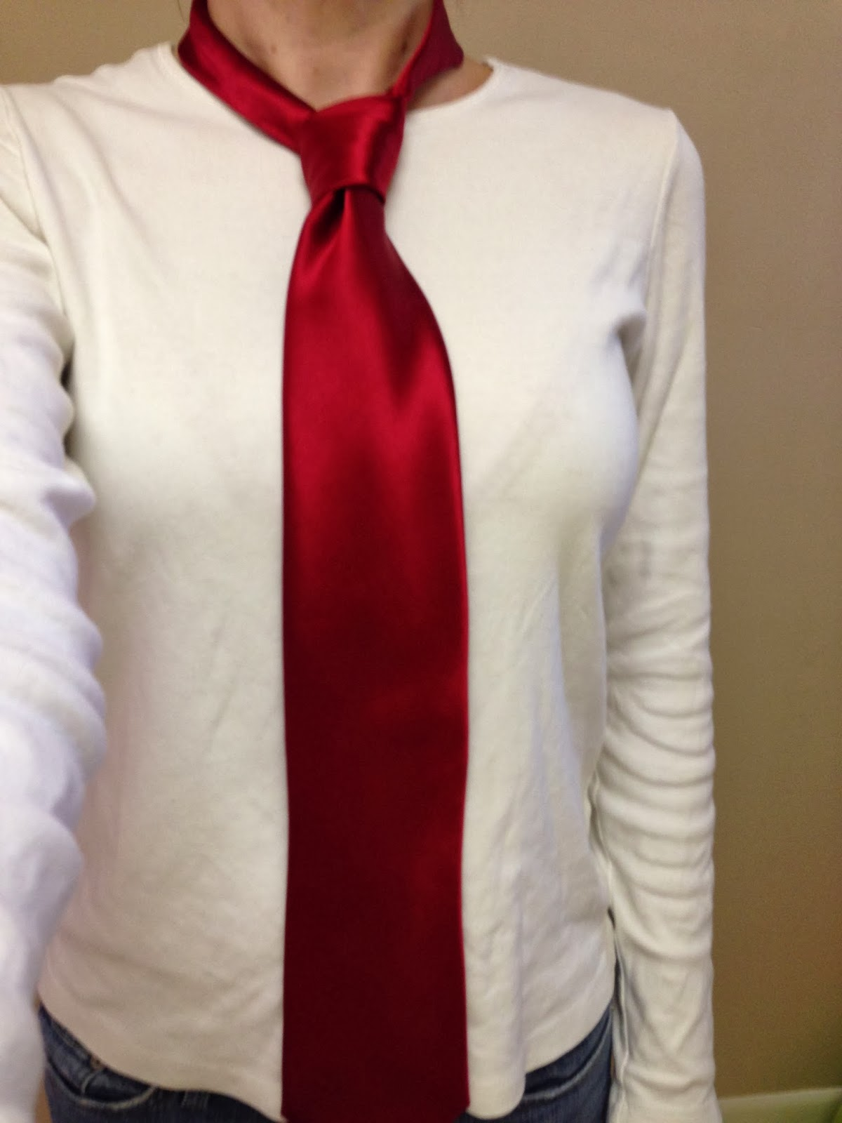 learned to tie a tie