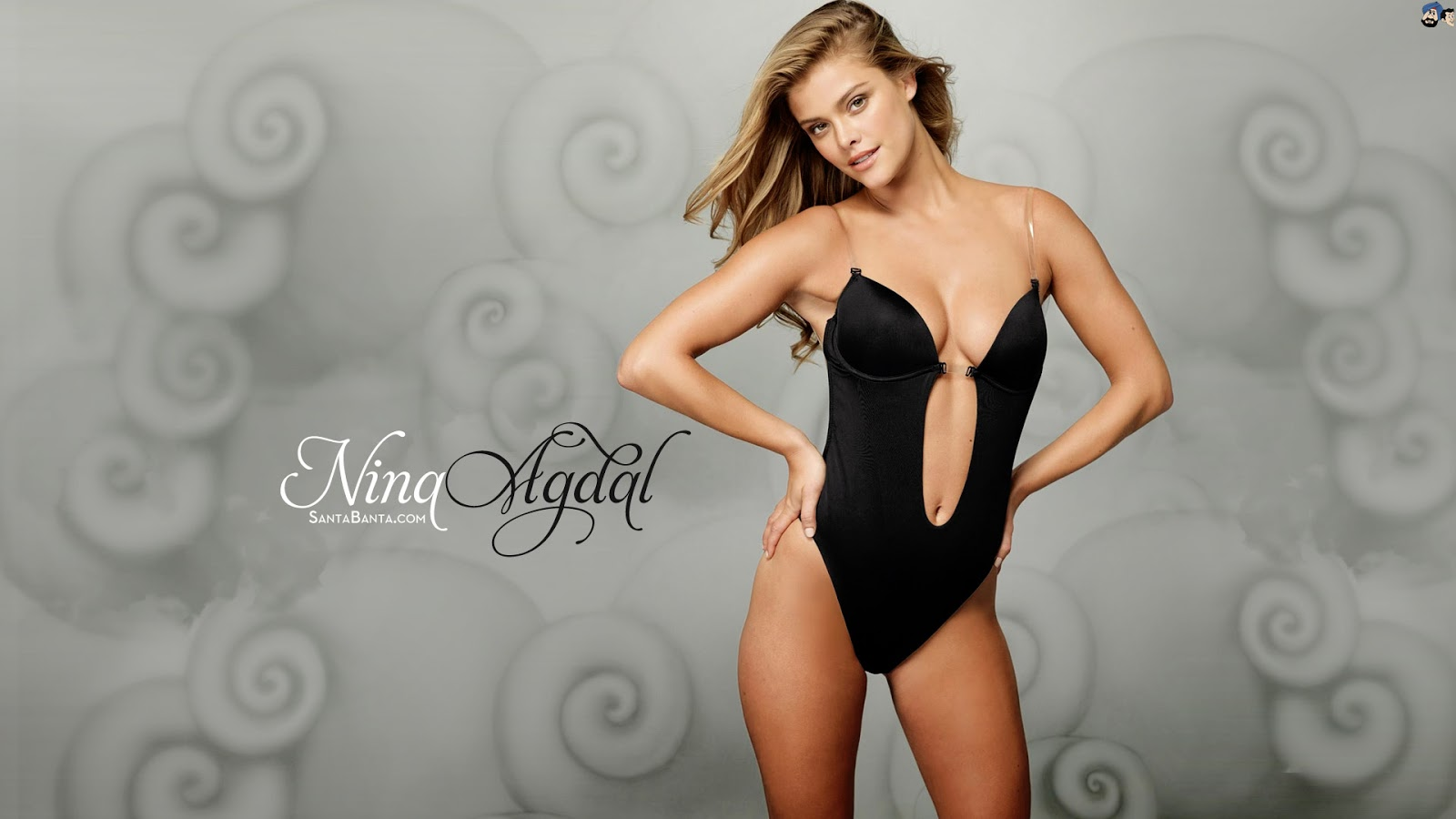 7772ede66 Nina Agdal Esquire Wallpaper