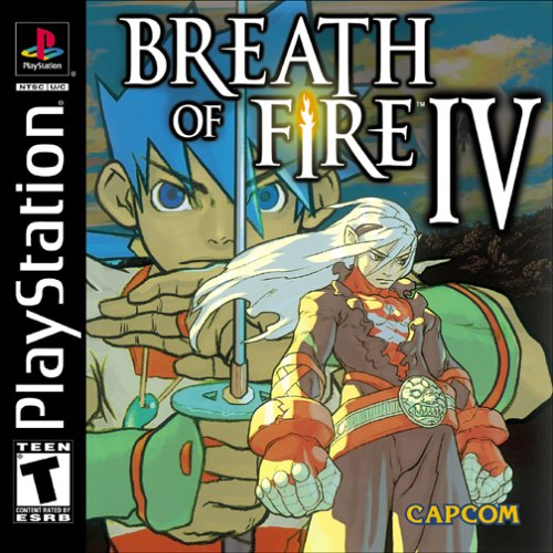 Breath of Fire IV - PSX - Portada