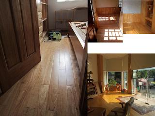 Sàn gỗ cao su - Căn hộ Bình Thạnh