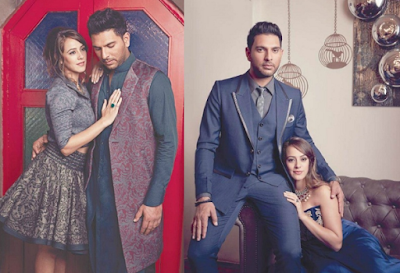 Yuvraj Singh Hazel Keech Pre Wedding Photo Shoot