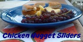Easy Mini Chicken Nugget Sliders Recipe