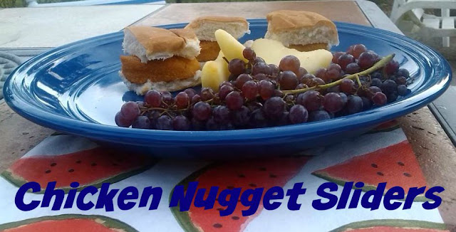 Easy Mini Chicken Nugget Sliders Recipe