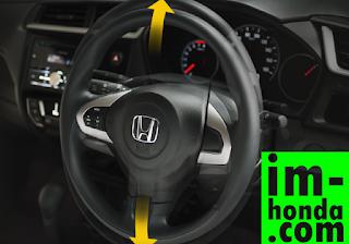 kredit new honda brio (tilt steering)
