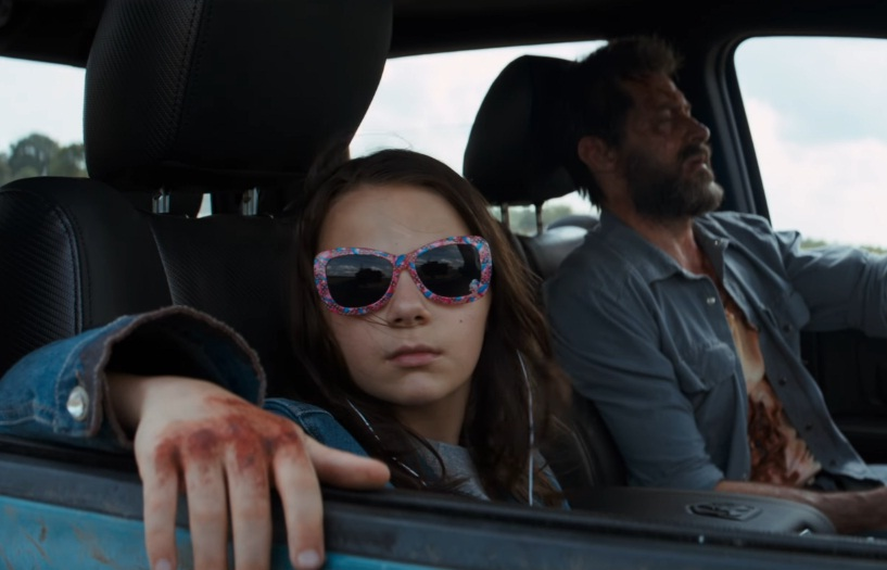 LOGAN MOVIE X23 WOLVERINE TRAILER 2 SECOND - HUGH JACKMAN - DAFNE KEEN - THE LAST OF US - LEALTUDO - ROAD TRIP