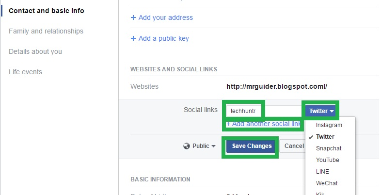 How to add instagramtwittersocial sites buttons to facebook related how to create your facebook profile usernamelink ccuart Images