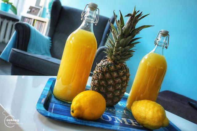 Lemoniada cytrynowo-ananasowa
