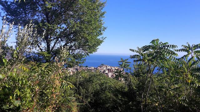 Cinque Terre, view of Corniglia