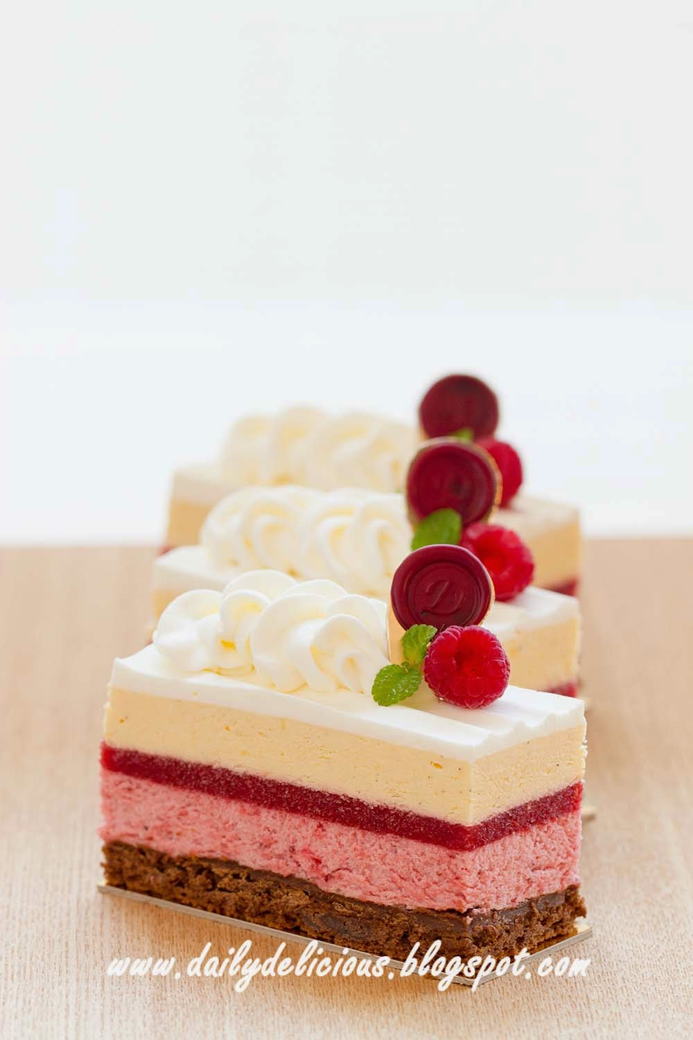 Dailydelicious Harmonia Red Berry Entremets