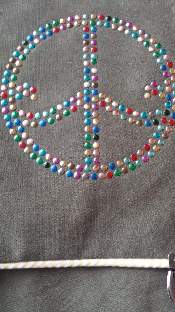 Retrotasche Peace