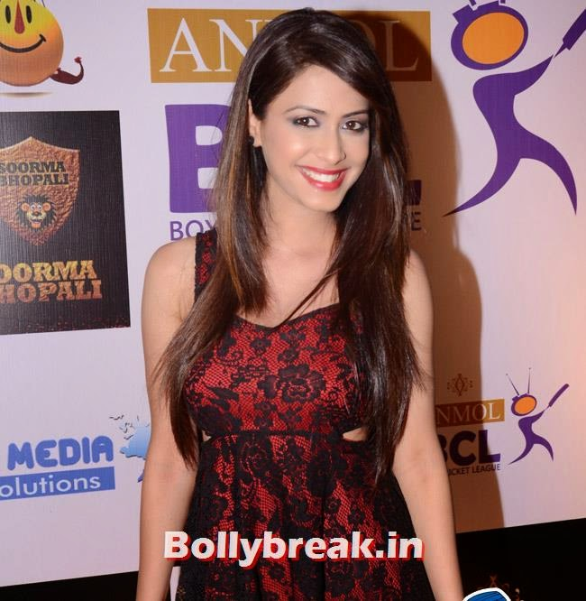 Dimple, Box Cricket League Success Party - Tv Babes as Guests