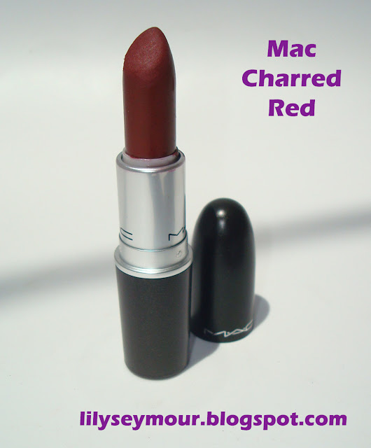 Mac Charred Red Lipstick