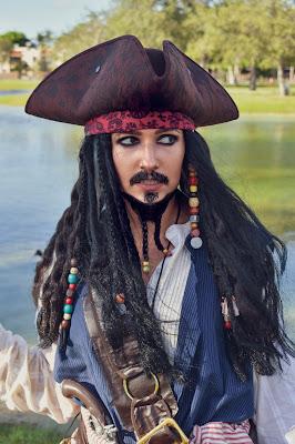 Female Jack Sparrow costume