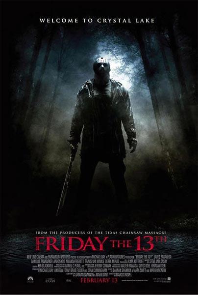 Viernes 13 (HD 720P y español Latino 2009) poster box code