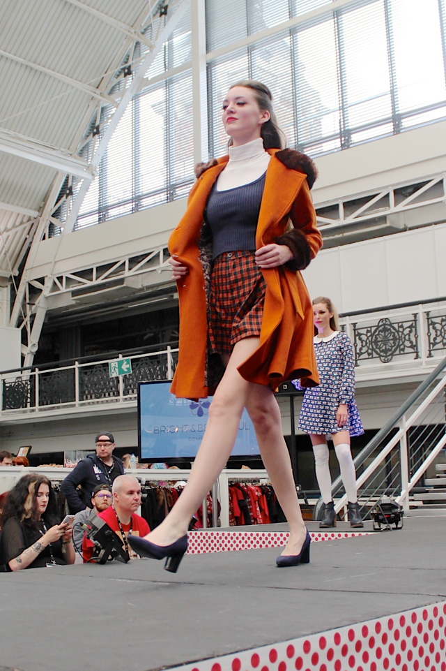 Bright and Beautiful on the London Edge catwalk