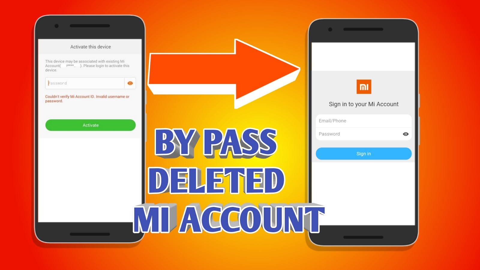 HOW TO BY PASS DELETED MI ACCOUNT IN XIAOMI DEVICES | TWRP