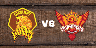GL vs SRH Head to Head IPL 2017 Match 53