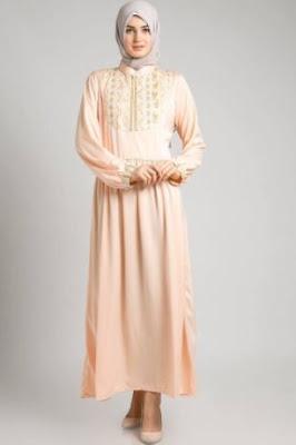 Baju muslim trendy motif masa kini