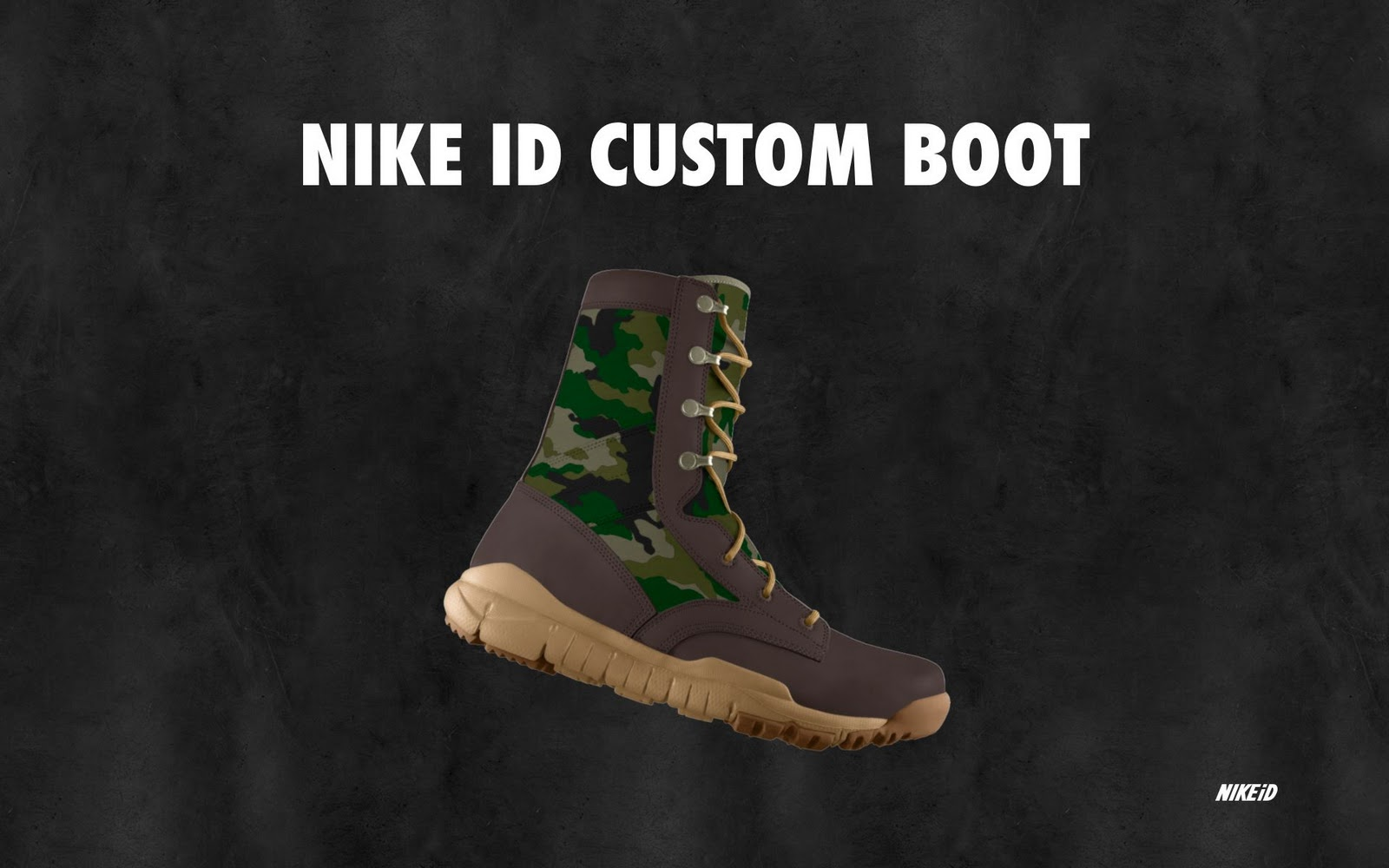 Tactical Gear and Military Clothing News   DIY Boot Design  Nike ... a62f8e0b9