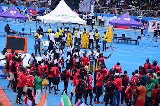 2018 african athletic championship photo album, Stephen kesh stadium