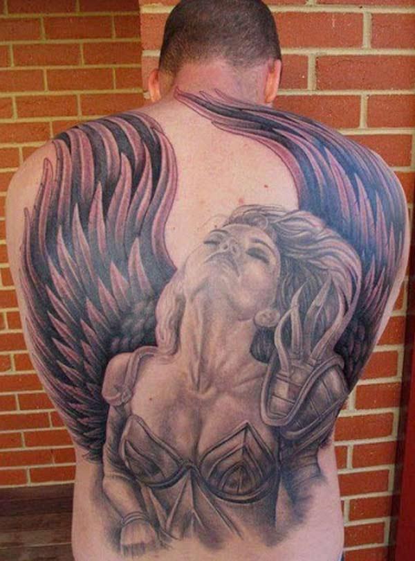 19750b81b Tattoos Design Ideas 30 Most Beautiful Angel Tattoo Designs Idea