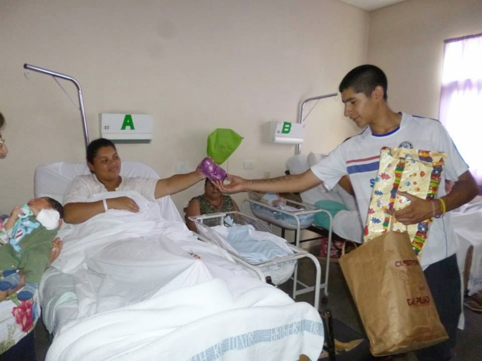 Mario Andres: Festejando Fin De Año En El Hospital