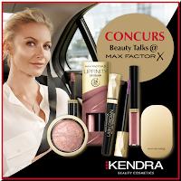 Castiga un beauty kit Max Factor