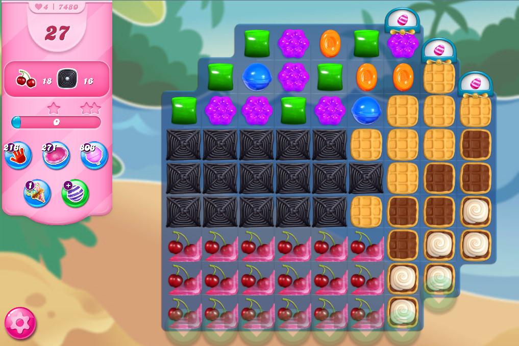 Candy Crush Saga level 7480