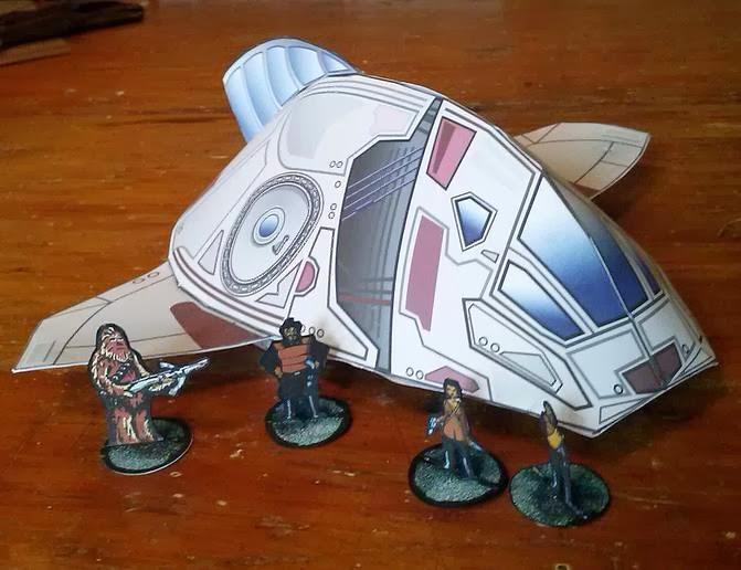 paper spacecraft models - photo #45