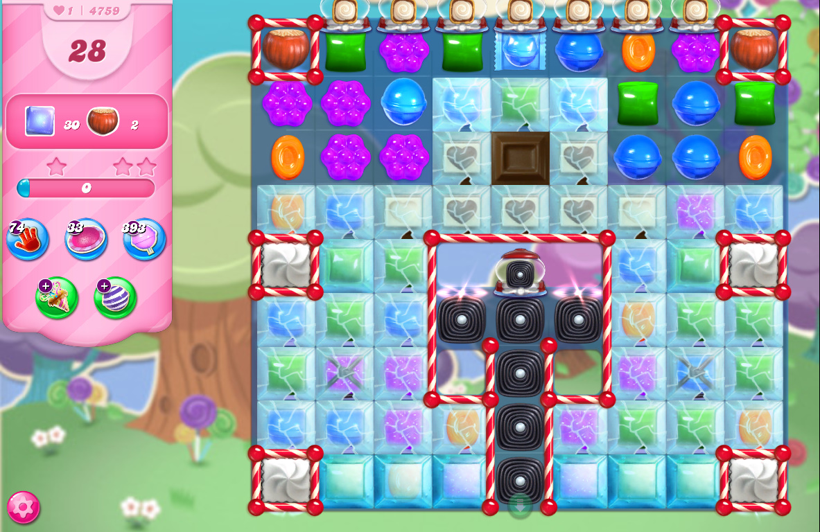 Candy Crush Saga level 4759