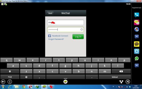 Cara Menggunakan WeChat di Laptop/PC/Komputer