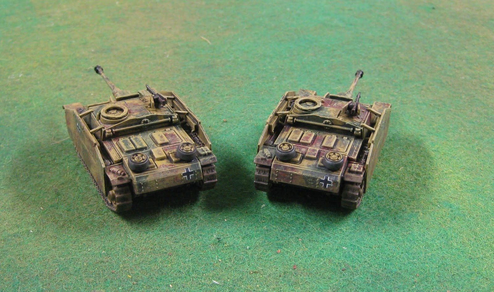 Gaming Stuh Scott's War-gaming: Stugs And Stuhs - Stug Battery