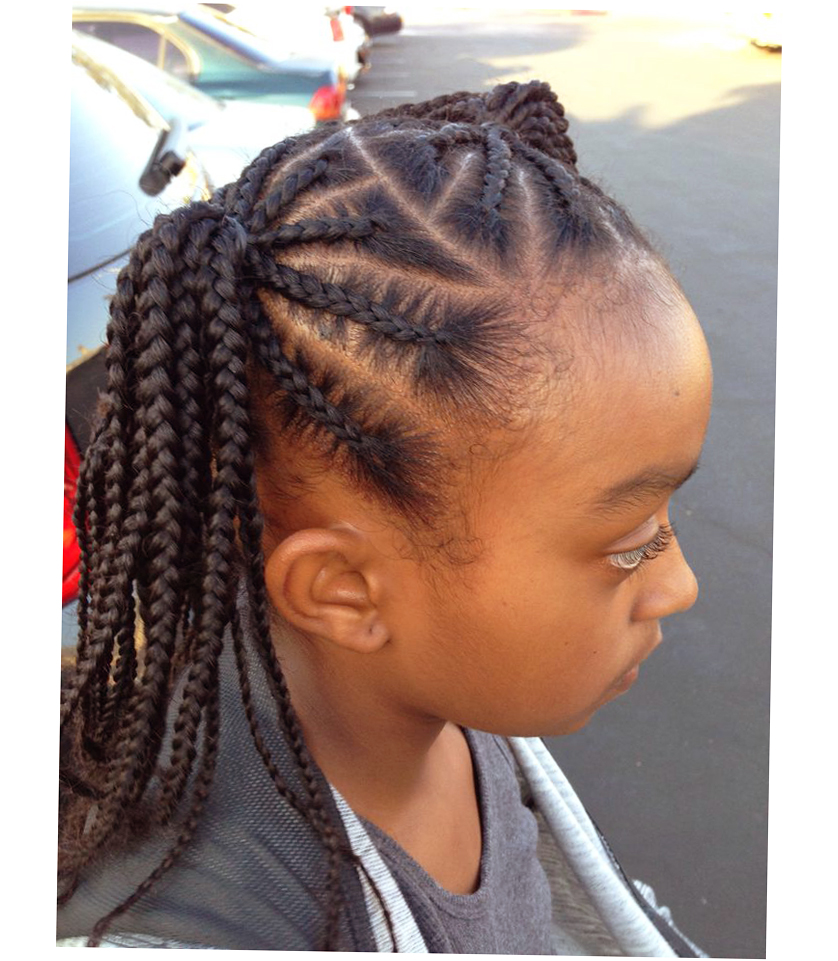 Surprising Latest African American Braids Hairstyles Hairstyles For Men Maxibearus
