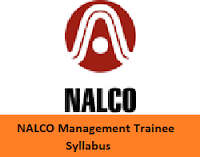 NALCO Management Trainee Syllabus